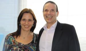 Dudu Braga é recebido pela secretária Marianne Pinotti