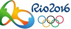 Logotipo dos jogos olímpicos Rio 2016, com anéis olímpicos