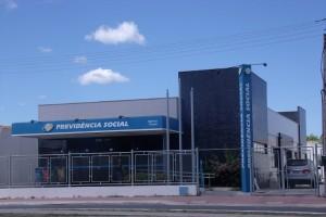 Foto da fachada do prédio da Previdência Social