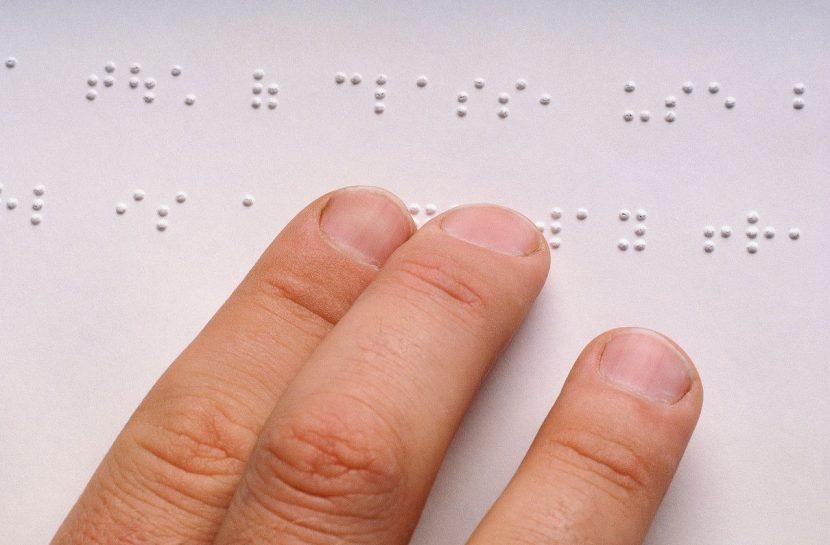 leitura em braille